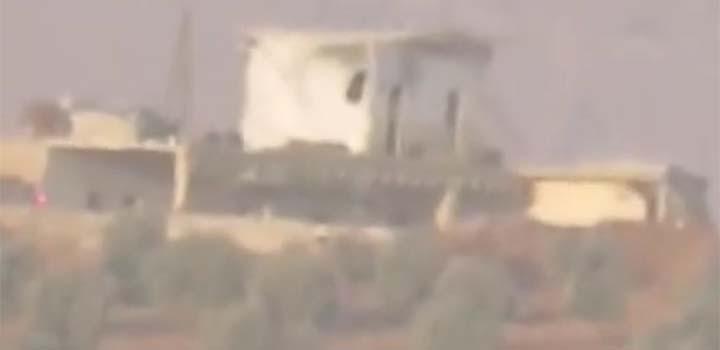 Suriye'de Bir Füze Rampası İmha Edildi (VİDEO)