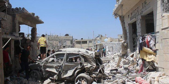 Esed Güçleri İdlib'de Sivilleri Katletti: 11 Ölü