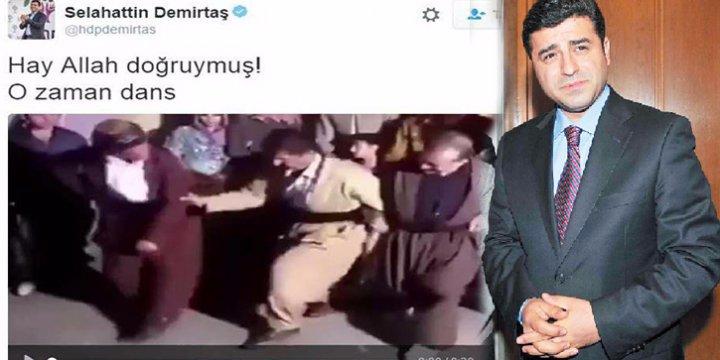 PYD/PKK Münbiç'i Aldı Selahattin Demirtaş Halayla Kutladı