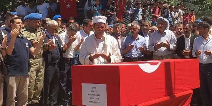 PKK'lılarca Katledilen Adıyaman Toprağa Verildi