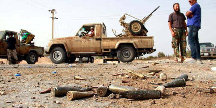 Libya'da Sabrata IŞİD'den Alındı