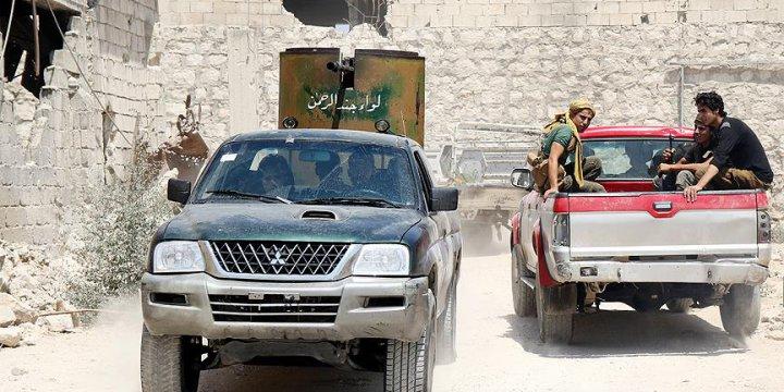 Direnişçiler Rejimin Karargahı Fabrikaya Operasyon Düzenledi