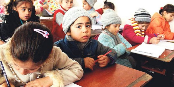 413 Bin Suriyeli Çocuğa Türkçe Eğitim
