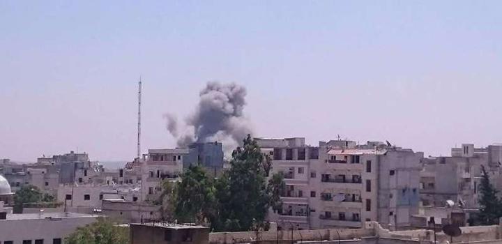 Rus Hava Saldırıları İdlib'de Devam Ediyor