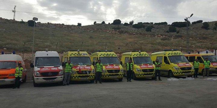 Türkiye'den Halep'e Giden Ambulanslar Vuruldu