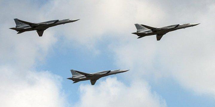 Rus Jetleri İran'dan Kalkıp Suriye'yi Bombaladı