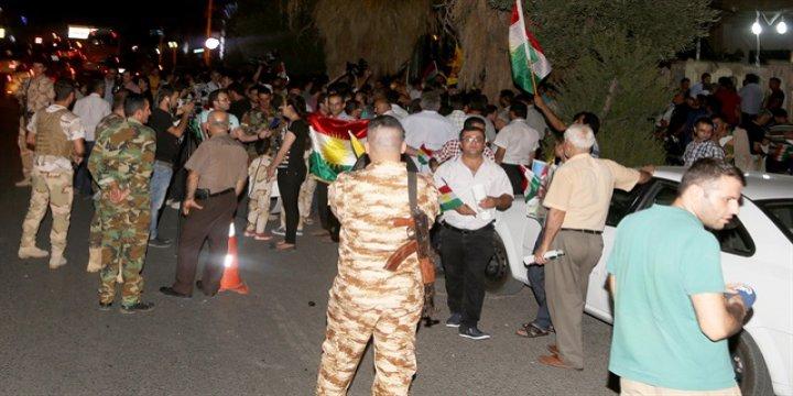 PYD Protestoya Katılan Kürtleri Katletti