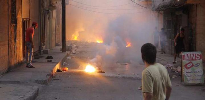 Rusya ve Esed Yangın Bombalarıyla Suriyeyi Yakıyor