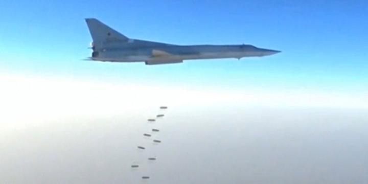 İran'dan Havalanan Rus Jetleri Suriye'deki Hedefleri Bombaladı!
