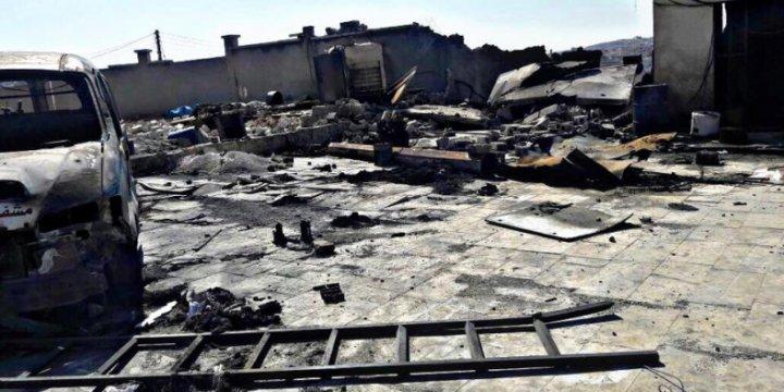 Rusya Halep'te Yine Hastane Vurdu