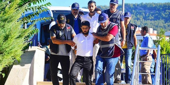 Marmaris Saldırganı 11 Darbeci Tutuklandı