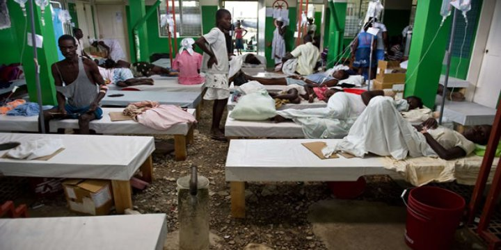 Haiti'deki Kolera Katliamının Tek Sorumlusu BM