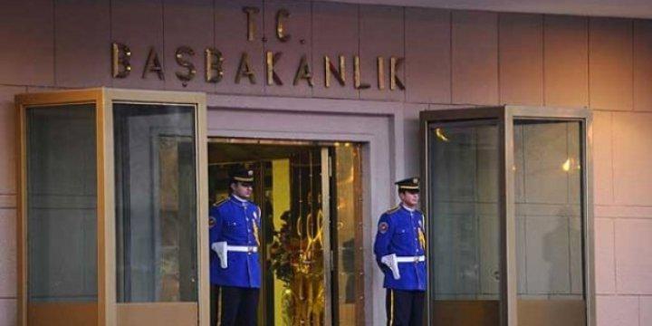 Başbakanlık'ta 18 Gözaltı