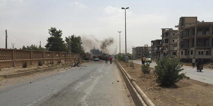 Suriye'nin Haseke İlindeki Esed-PYD Çatışması