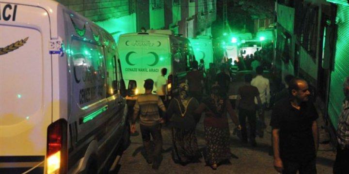 Gaziantep Valiliği: Saldırıda 30 Kişi Öldü, 94 Yaralı Var