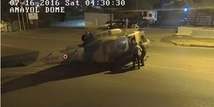 Helikopterle Kaçan Darbeciler Teşhis Edildi