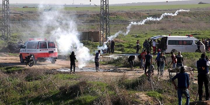 İşgalci İsrail, Gazze Sınırındaki Bazı Bölgelere Saldırdı!