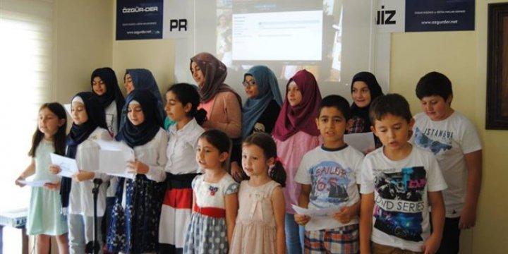 Çorum Özgür Çocuk Kulübü Yaz Sonu Etkinliği Düzenledi