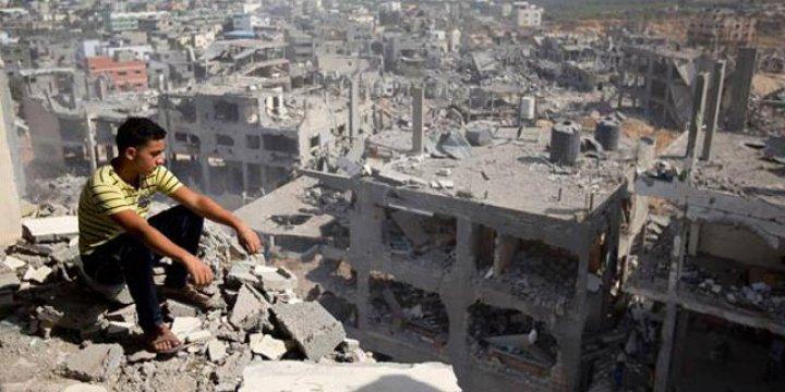 """""""Gazze Şeridi'nde 65 Bin Kişi Hâlâ Evsiz"""""""
