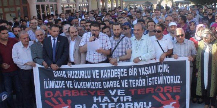 Van'da Gaziantep'teki Bombalı Saldırı Kınandı