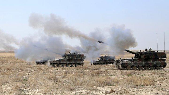 Suriye'deki IŞİD ve PYD Hedefleri TSK Tarafından Vuruldu