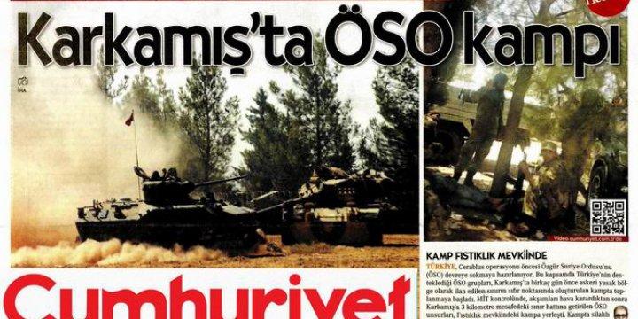 Cumhuriyet Gazetesi ÖSO Kampını Kime İspiyonluyor