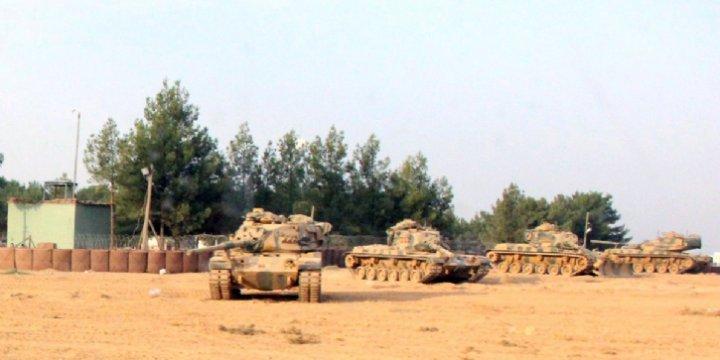 Türkiye Tarafından Cerablus'a Askeri Hareket Başlatıldı