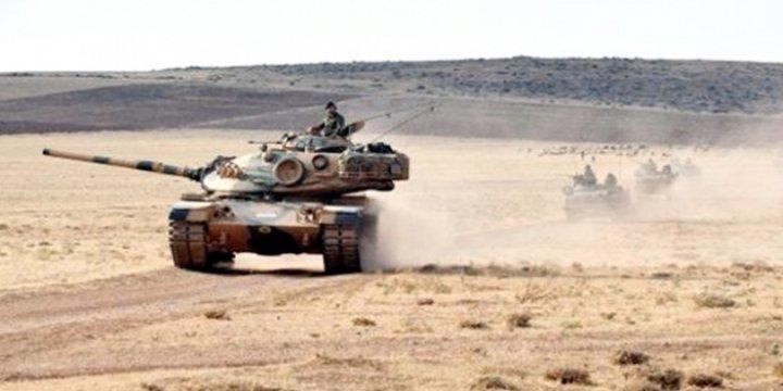 Tank Birlikleri Suriye Sınırından İçeri Girdi (Video)