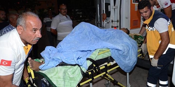 Cerablus'ta Yaralananlar Kilis'te Tedavi Ediliyor