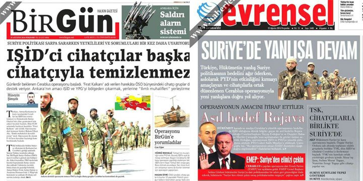 Esed Şebbihası Türk Solu Yasta!