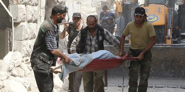 Halep'e Varil Bombalı Saldırı: 15 Kişi Hayatını Kaybetti!