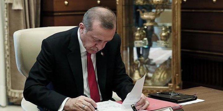 Cumhurbaşkanı Erdoğan 3 Üniversiteye Rektör Ataması Yaptı
