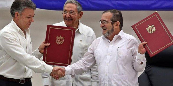 Kolombiya Barış Anlaşması Referanduma Gidiyor