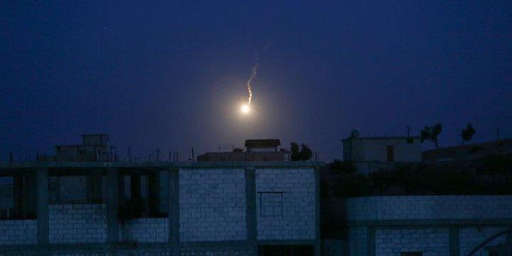 Cerablus'ta PYD'den Türkiye'ye Ait İki Tanka Roketli Saldırı