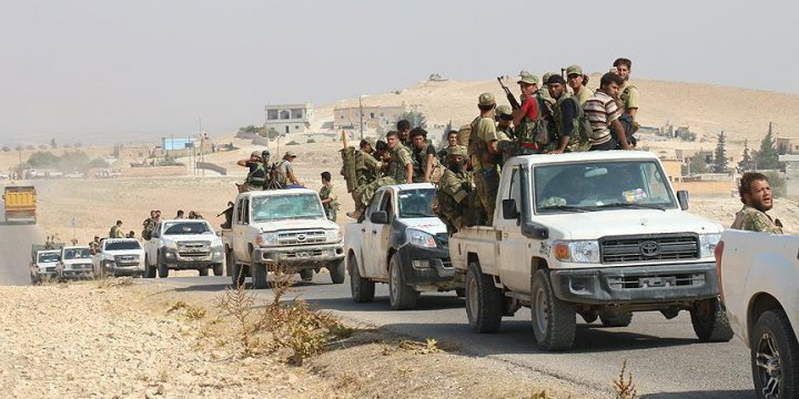 ÖSO, Cerablus'ta 8 Köyü Daha PKK/PYD'den Kurtardı