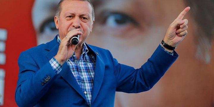 Erdoğan: Sınırımızdaki Hiçbir Örgüte Müsamaha Göstermeyeceğiz