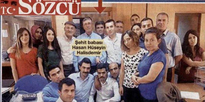 Sözcü Gazetesi Halisdemir'in Ailesini CHP'li Yaptı