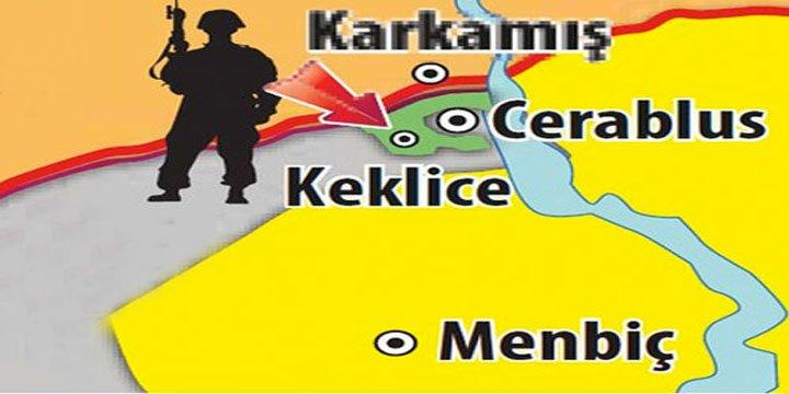 Meğer Cerablus Harekâtı 'AKP-IŞİD Suç Ortaklığı'nın Somut Kanıtıymış!