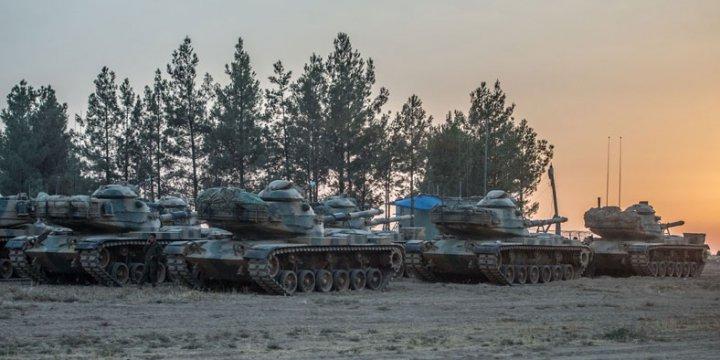 Cerablus'ta Türkiye Tankı Vuruldu: 3 Yaralı