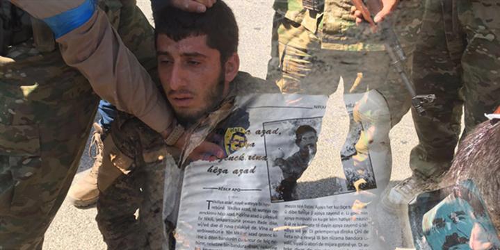 PYD'li Militanların Armalarındaki Öcalan Detayı!