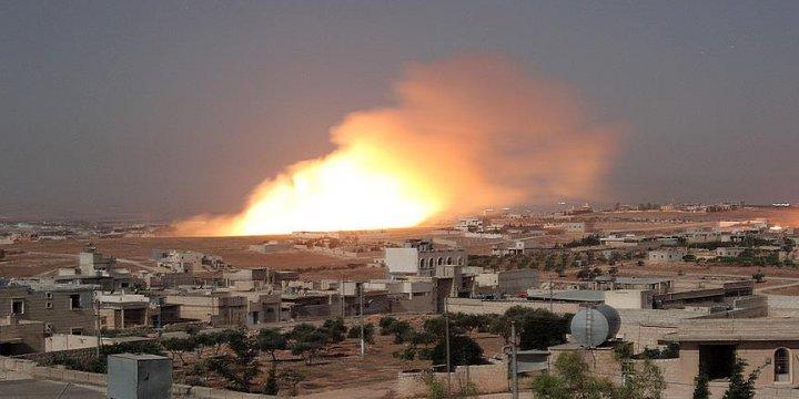 Rus Ordusundan İdlib'e Fosfor Bombalı Saldırı