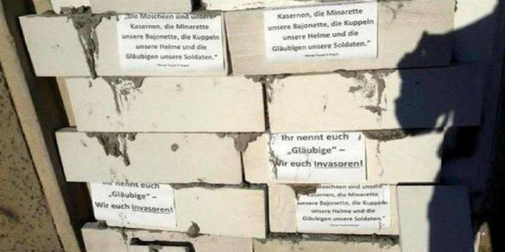 Almanya'da Cami Derneğine Rezil Saldırı