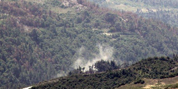 Esed Rejimi Cebel Etrak ve Cebel Ekrad'a Saldırıyor