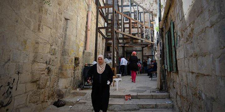 Kudüs'teki Evlerde Çökme Tehlikesi