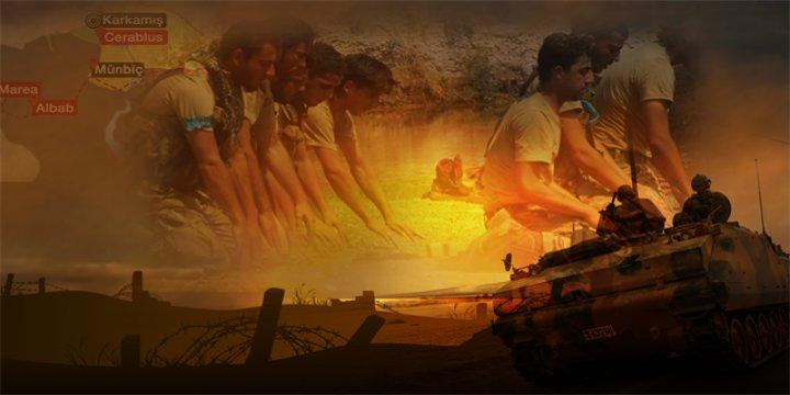Direnişçiler Azez-Cerablus Hattını Birleştirdi