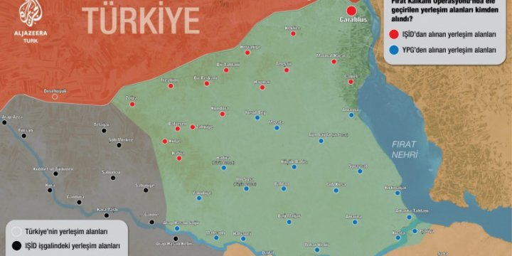 Cerablus'ta PKK/PYD Güçlerinden Kurtarılan Köyler