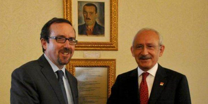 Kılıçdaroğlu, ABD Büyükelçisi Bass ile Görüştü