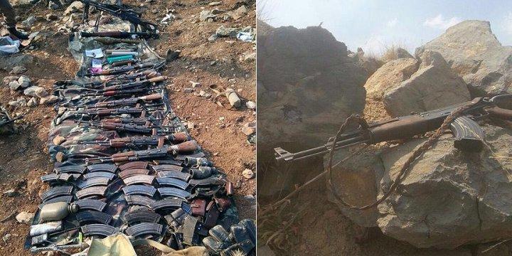 Genelkurmay: 100'ün Üzerinde PKK'lı Etkisiz Hale Getirildi
