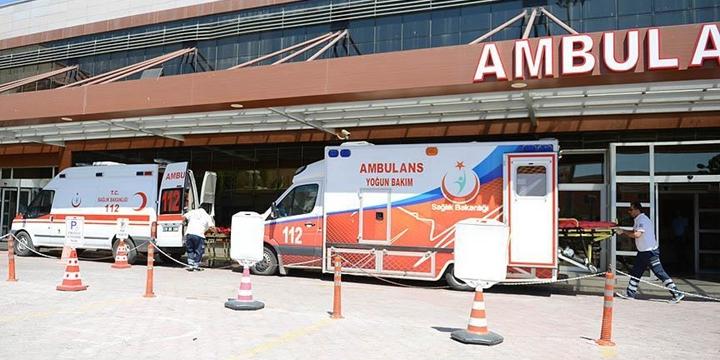 13 ÖSO Mensubu Kilis'te Tedavi Altına Alındı