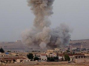 Esed Rejiminin Jetleri Katliama Devam Ediyor
